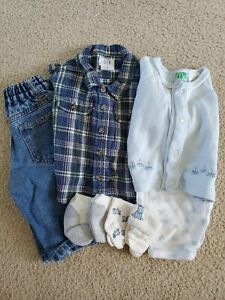 Baby Boy Outfits - 3/6 Months