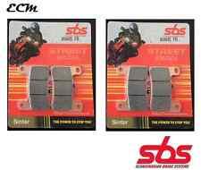 Suzuki GSX-R 1000 K5 2005 Radial Caliper SBS Set of Front Brake Pad Sinter 806HS