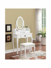 Antique Style Dressing Tables with Mirror