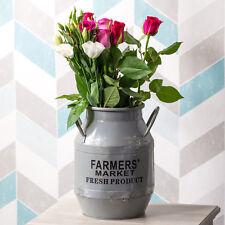 Large Farmers Market Milk Churn Vase Shabby Chic Home Decoration Wedding Table