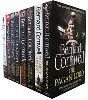 Bernard Cornwell Warrior Chronicles Series 8 Books Set Collection Last Kingdom..