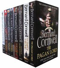 Bernard Cornwell Warrior Chronicles Series 8 Books Set Collection Last Kingdom..