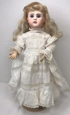 "16"" Antique Jules Steiner  Figure A. 7  Doll Original Wig Pate Outfit"