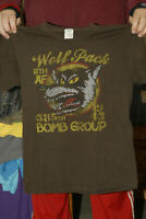 WOLF PACK 8TH AIR FORCE 385TH BOMBER GROUP T SHIRT MED USAF AIR FORCE USAF
