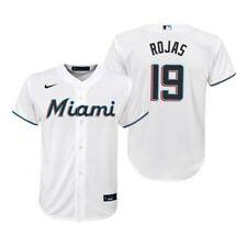 Miami Marlins Nike Baseball Jersey MLB Men's 2020 Home Jersey - Rojas 19 - New