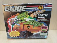VINTAGE GI JOE ECO WARRIORS SEPTIC TANK MISB MINT IN SEALED BOX FACTORY SEALED