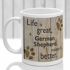 German Shepherd dog mug, German Shepherd dog gift, ideal present for dog lover