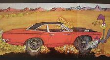 1969 Plymouth Roadrunner MOPAR NHRA 3pg original foldout  car mag ad 1968 1970