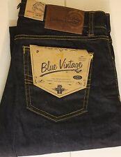 Pierre Cardin indigo/dark-wash Herren-Jeans mit regular Länge