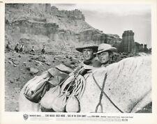 CLINT WALKER ROGER MOORE Original Vintage GOLD OF THE SEVEN SAINTS Western Photo