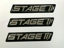 2 x STAGE 1, 2 or 3 CUSTOM TUNING STICKERS PRINTED & COATED WITH GLOSS DOMED GEL