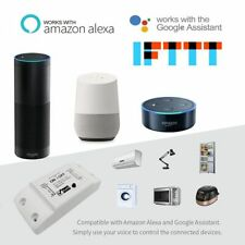 Smart Light Switch Universal Wireless Remote Control Alexa Google Home Accessory