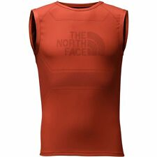 The North Face Mens Flight Series Warp Tank Top Ultimate Running Vest Orange S/m
