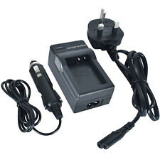 DSTE Wall Charger with Car Adapter for XiaoYi BXM-10 Camera Battery