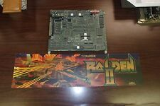 RAIDEN FIGHTERS JAMMA PCB BOARD WORKING with marquee #67