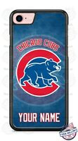 Chicago Cubs Baseball Logo With Name Phone Case Cover For iPhone Samsung LG etc