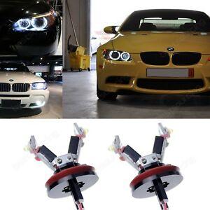 12W BMW H8 LED Angel Eyes Feux de jours E82 E88 E70 E71 E72 E89 E90 E91 E60 E61