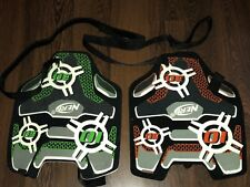 NERF N-Strike Dart Tag Target Vests Lot of Two (2) Green and Orange