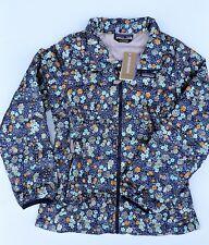 Patagonia Girls Untamed Ditsy Big Vjosa Green Down Sweater Jacket Size 12 L $119