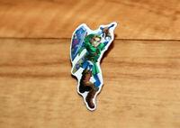 The legend of Zelda 25th Anniversary Rare promo Collectible Link Pin Nintendo