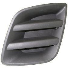 2009-2012 RAV4 Front DRIVER Bumper Lower Grille Fog Light Insert Bezel NEW