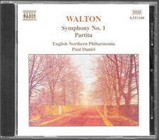 ALBUM CD / WALTON : SYMPHONY N°1 PARTITA / NAXOS