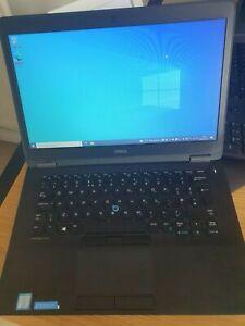 Dell Latitude E7470 Ultrabook i7-vPro 6600U 256GB SSD 16GB Win 10 Pro High Spec