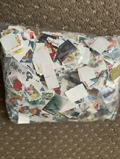 500 grams Norway Used Stamps off Paper