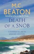 Death of a Snob by M. C. Beaton  BRAND NEW PAPERBACK