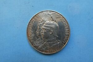 5 Mark, Kaiserreich, Preussen, 1901, Silber, original