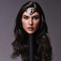 1/6 Scale Gal Gadot Head Sculpt For PHICEN Female Figure Body Wonder Woman Toys