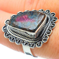 Ruby Fuchsite 925 Sterling Silver Ring Size 8 Ana Co Jewelry R31654F
