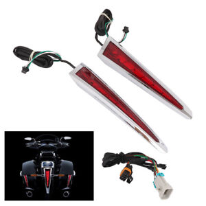 Saddlebag Lights For Victory Cross Country Tour Magnum Hard-Ball Motorcycle