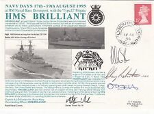 3RNCH14b HMS Brilliant Navy Days 1995 Signed 4 Featured in TV Serialisation