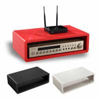 Floating Wall Mount Shelves SKY TV BOX CD DVD HIFI WIFI Router Wooden Shelf Unit