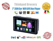 "7"" 2DIN Car MP5 Player Android Touch Screen HD Stereo Radio+Cam GPS WIFI BT OBD2"