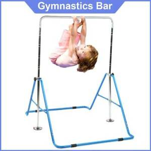 Adjustable Gymnastic Training Bars Horizontal High Bars for Junior Kids Home Gym