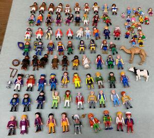 Vintage Lot (97) Playmobil People Geobra Parts Pieces Accessories Animals