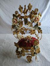 intérieur globe de mariée ancien rose porcelaine.