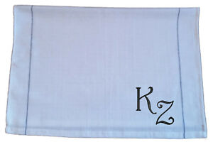 Personalised embroidered tea towel, gift, present, kitchen, initials
