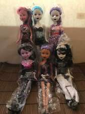 Lots of Gothic Dolls 6 Pcs with accessories New FREE SHIPPING USA