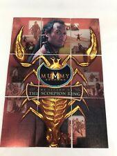"THE MUMMY RETURNS (Inkworks 2001) FOIL ""SCORPION KING"" Chase Card Set SK1-SK9"