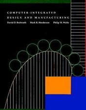 Computer Integrated Design and Manufacturing, Henderson, M. R., Wolfe, Philip M.