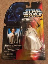 Star Wars Princess Leia Organa Red Card 2 Bands Belt USA 1995