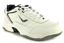 Ascot Murray Mens Trainers White UK Size