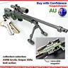 Sniper Rifle Keyring AWM Sniper Metal Gun Model Arctic Warfare Police keychain