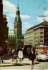 Hamburg - Rathaus und Mönckeburgstraße - 1975 gelaufen