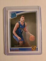 2018-19 Donruss Luka Doncic RATED Rookie Card #177 Dallas Mavericks