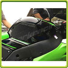KAWASAKI NINJA ZX10R 2011-2016 Tank Traction Side Pad Gas Fuel Knee Grip Decal