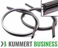2x Ersatzgummi für Scheibenwischer (2x Streifen) für Bosch Aerotwin Wischergummi